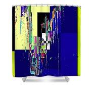 Smith Tower Shower Curtain by Tim Allen