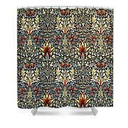 Snakeshead Shower Curtain by William Morris