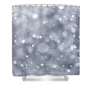 Snowfall  Shower Curtain by Elena Elisseeva