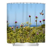 Soaring Beauty Shower Curtain by Lynn Bauer