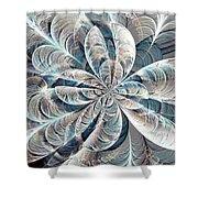 Soft Palette Shower Curtain by Anastasiya Malakhova