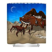 Softe Grand Piano Se Shower Curtain by Mike McGlothlen
