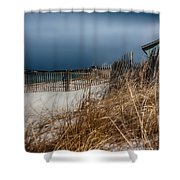 Solitude on the Cape Shower Curtain by Jeff Folger