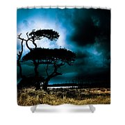 Something Wicked This Way Comes Shower Curtain by Shane Holsclaw