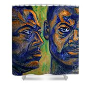 Song of Freedom Shower Curtain by Xueling Zou