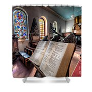 Song of Solomon Shower Curtain by Adrian Evans