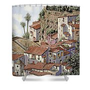 Sorrento Shower Curtain by Guido Borelli