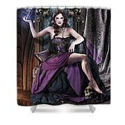 Soul Collector Shower Curtain by Drazenka Kimpel