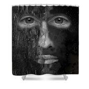 Soul Emerging Shower Curtain by Michael Hurwitz