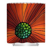 Soul Kiss 2 Shower Curtain by Sharon Cummings