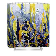 Sounds So Soothing Shower Curtain by Thomas Hampton
