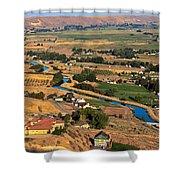 Southslope Emmett Valley Shower Curtain by Robert Bales
