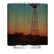 Southwest Morning Shower Curtain by Robert Frederick