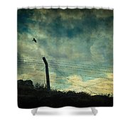 Southwester Shower Curtain by Taylan Soyturk