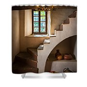 Spanish Governors Palace Shower Curtain by Inge Johnsson