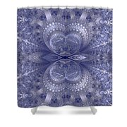 Sparkling Shower Curtain by Sandy Keeton