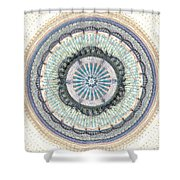 Spiritual Growth Shower Curtain by Anastasiya Malakhova