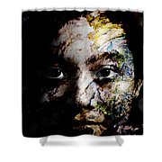 Splash Of Humanity Shower Curtain by Christopher Gaston