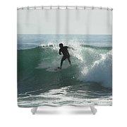 Splash Zone Shower Curtain by Donna Blackhall
