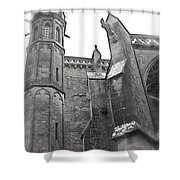 Classic Goth Shower Curtain by FRANCE  ART
