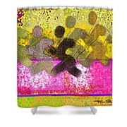 Sports B 2 Shower Curtain by Theo Danella