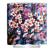 Spring Beauty Shower Curtain by Zaira Dzhaubaeva