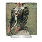 Spring Bouquet Shower Curtain by Ilya Efimovich Repin