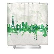 Spring In Paris France Shower Curtain by Aged Pixel