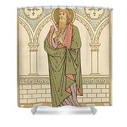 St Bartholomew Shower Curtain by English School