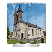 St Michael Church Shower Curtain by Adrian Evans