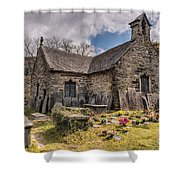 St Michaels Church Shower Curtain by Adrian Evans