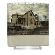 St. Pauls Anglican Church Shower Curtain by Priska Wettstein