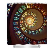 Stained Glass Shower Curtain by Gianfranco Weiss