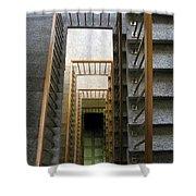 Stairs Shower Curtain by Ausra Paulauskaite