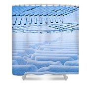 Standing Room Only - Featured 3 Shower Curtain by Alexander Senin