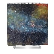 Stargasm Shower Curtain by Sean Connolly