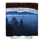 Starlit Mesa  Shower Curtain by Dustin  LeFevre