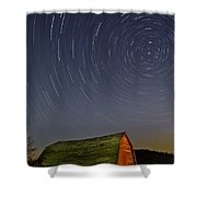 Starry Night Shower Curtain by Susan Candelario