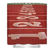 Starting Line Shower Curtain by Shoal Hollingsworth