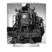 Steam Engine Shower Curtain by Robert Bales