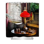 Steam Punk - Victorian Suite Shower Curtain by Mike Savad
