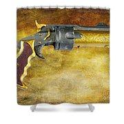 Steampunk - Gun - The Hand Cannon Shower Curtain by Paul Ward