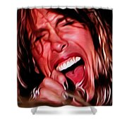 Steven Shower Curtain by Cheryl Young