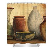 Still Life-d Shower Curtain by Jean Plout