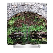 Stone Arch Shower Curtain by Rudy Umans