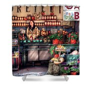 Store - Dreyer's Farm Shower Curtain by Mike Savad