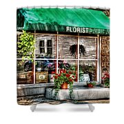 Store - Florist Shower Curtain by Mike Savad