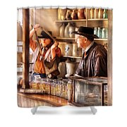 Store - The Messenger  Shower Curtain by Mike Savad