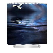 Storm Shower Curtain by John Edwards
