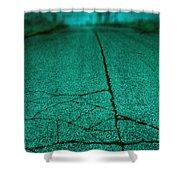 Straight Shower Curtain by Margie Hurwich